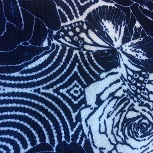 Agnes & Dora Skirts - NWT Agnes & Dora Blue Floral Pencil Skirt SZ 3X
